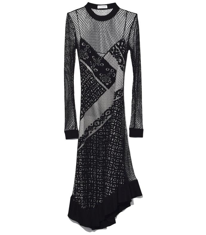 sheer top dress