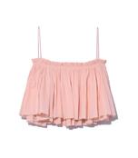 pink 'quartz sanna' cropped camisole