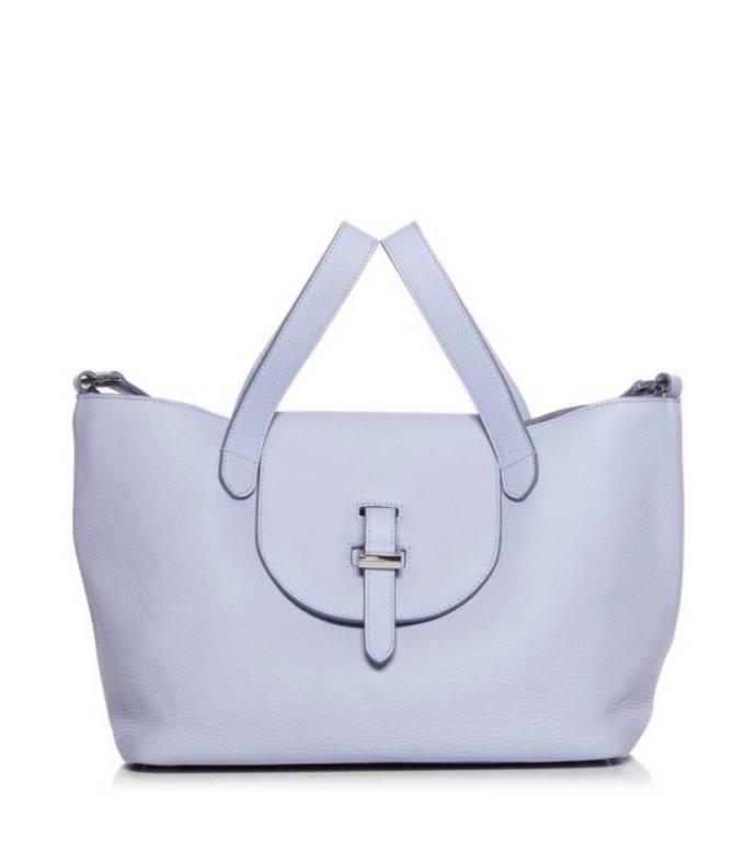 purple 'thela' medium tote bag