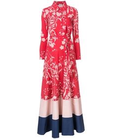 red carolina dress