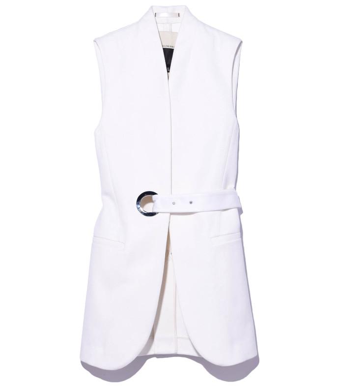 white 'saipiro' vest