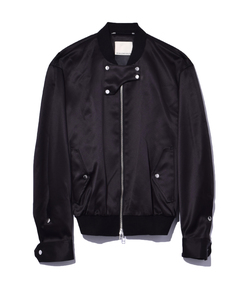 black 'sanicas' jacket