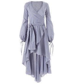 lena dress in navy