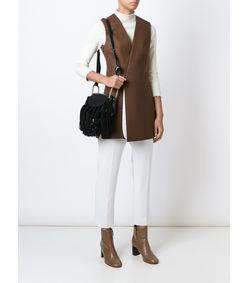 ShopBazaar Chloe Mini 'Hudson' Suede Bag FRONT