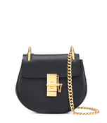 black mini 'drew' shoulder bag