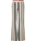 striped flared trouser pant