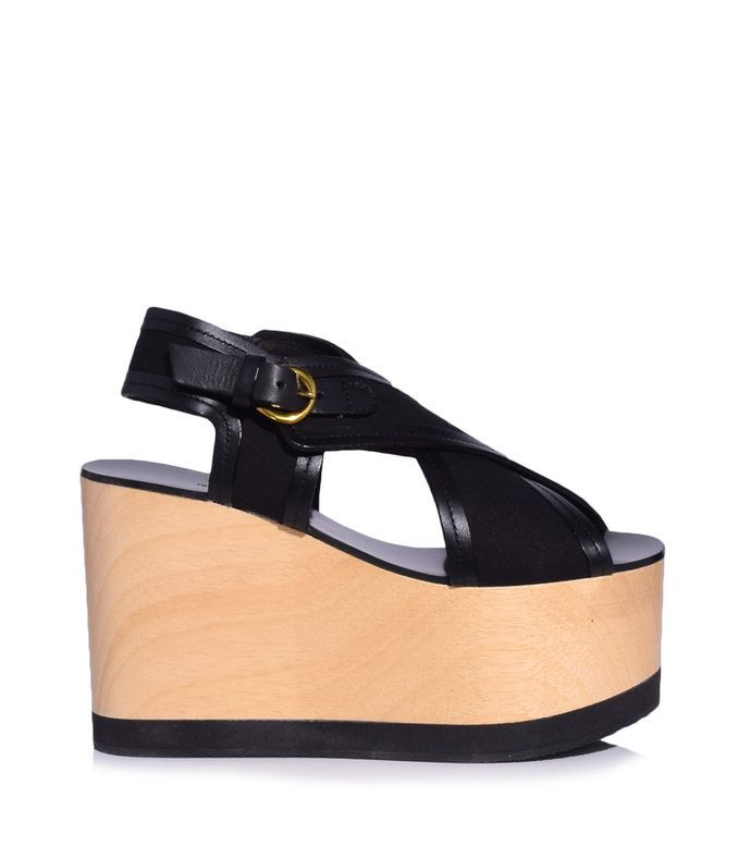 black zlova canvas tall wedge