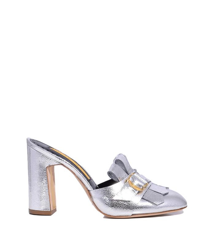 silver 'pyenna' sandal