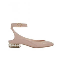 light blush lola ballerina flat