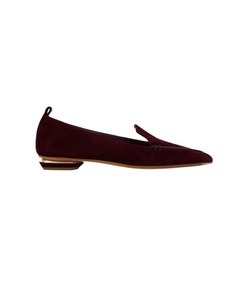 deep plum beya loafer