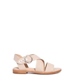 natural canvas 'brie' sandal