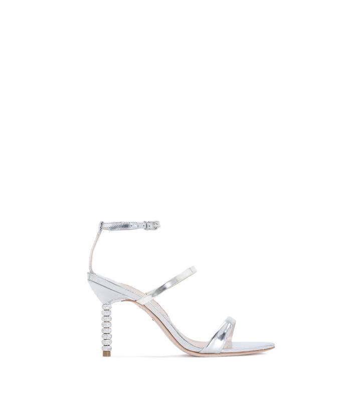 silver rosalind mid sandal
