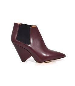 burgundy lashen boots