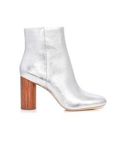 silver/cherry wilder boots