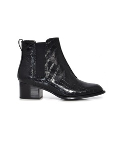black croco walker ii boots