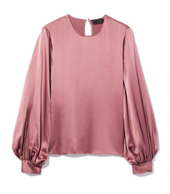 loretta blouse in dusty rose