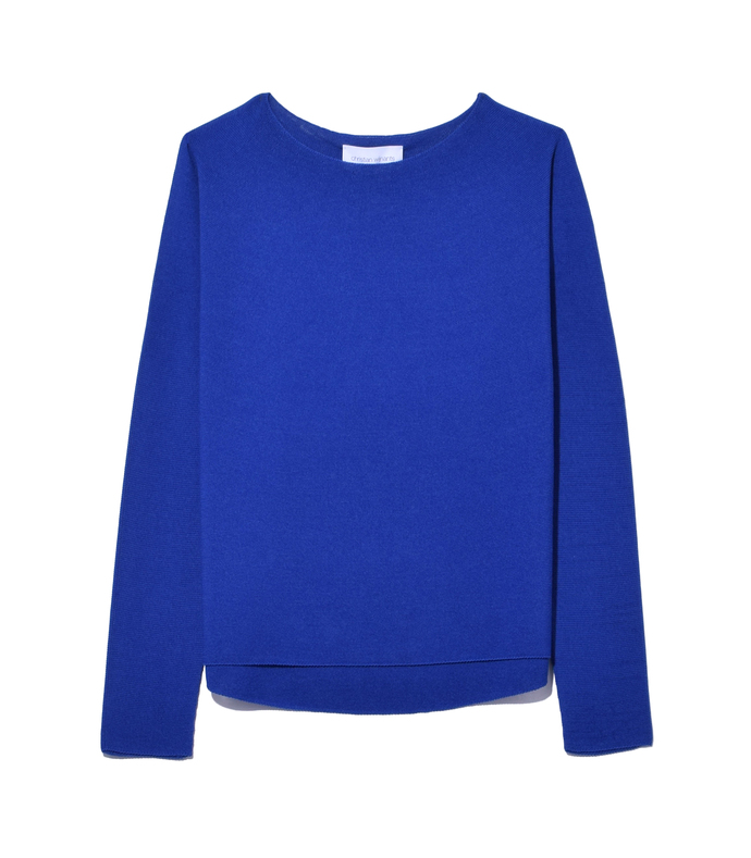 electric blue 'kiet' sweater