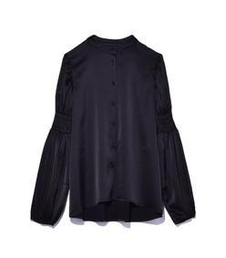 black peasant blouse