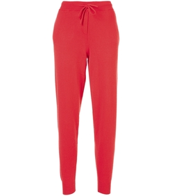 red heart burst track pants