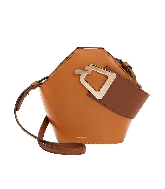 mini johnny bucket bag in bicolor
