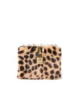 ShopBazaar Dolce and Gabbana Mini Box Leopard Bag MAIN