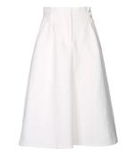 white 'camellia' future contrast skirt