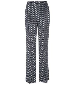 blue/white graphic embrace pant
