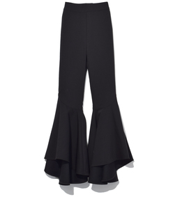 black sinuous pant