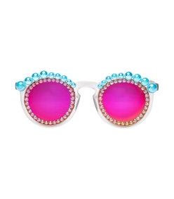 pink lulu bubblegum sunglasses