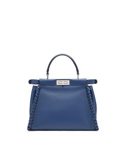 blue large 'peekaboo' bag