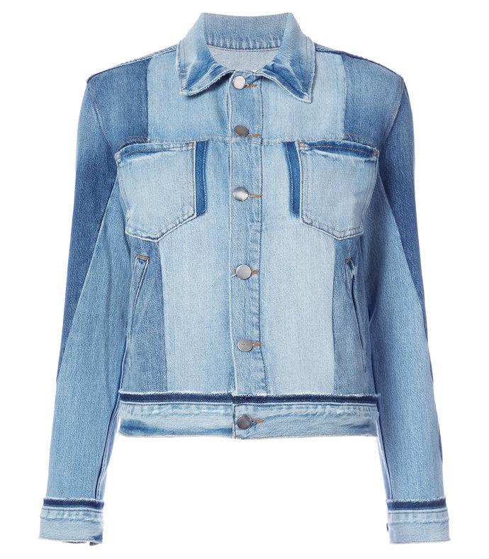 'nouveau le mix' denim jacket