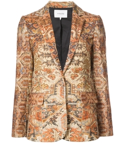 gold classic persian blazer
