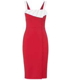 red 'isobel' dress