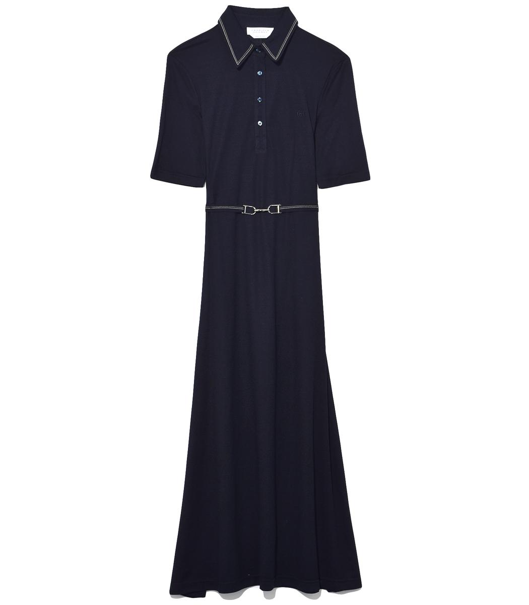 Navy Jean Dress
