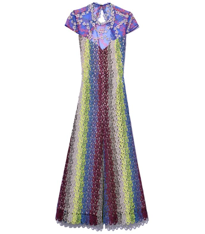 royal multi 'putman' dress