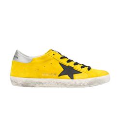 yellow 'superstar' sneaker