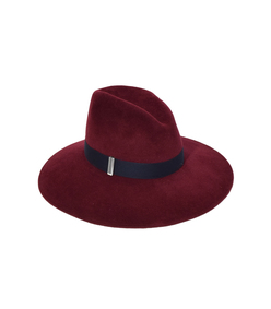 burgundy bordeaux drake hat