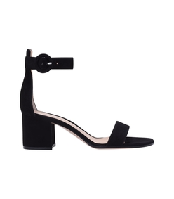 black versilia block heel sandal