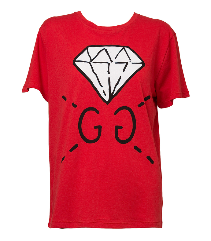 red 'ghost' t-shirt