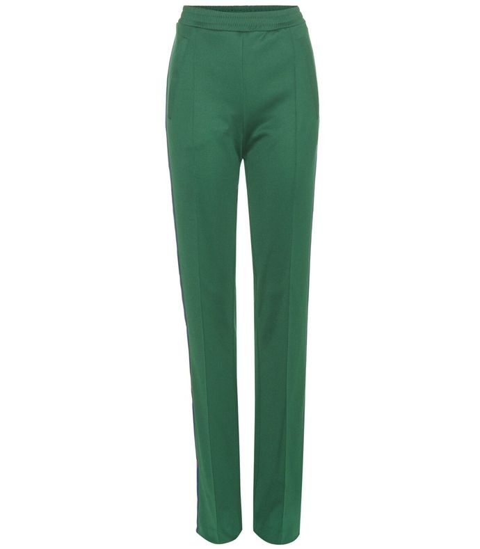 green striped trackpant