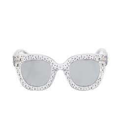 silver crystal star sunglasses