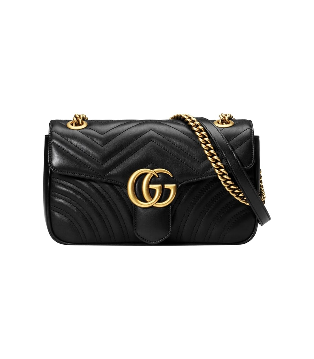 bd55a02b83d88 Gucci Marmont Matelasse Small Bag Review. GUCCI Calfskin Matelasse Small GG  Marmont Shoulder ...