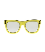 yellow gv7016 rectangle sunglasses