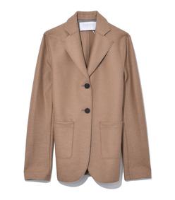 camel patch pocket blazer