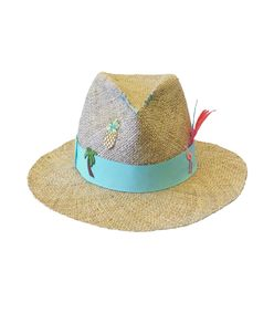 natural 'kate' hat