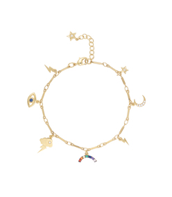 gold all weather bracelet