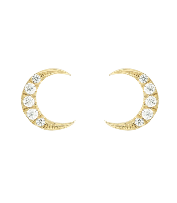 only moon studs