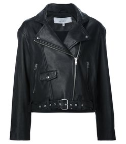black 'larissa' biker jacket