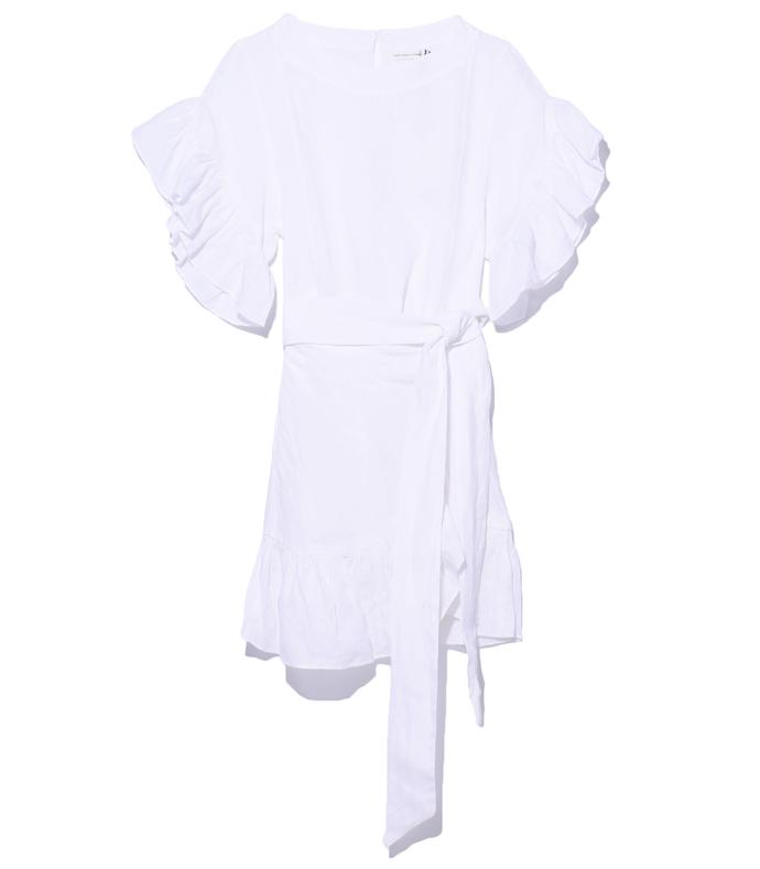 white 'delicia' dress