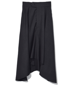 black anthracite misa skirt